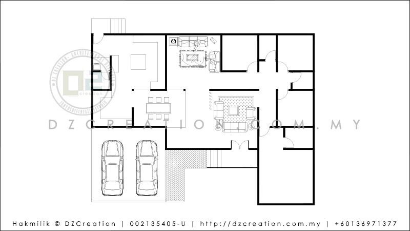 design pelan lantai pelan rumah