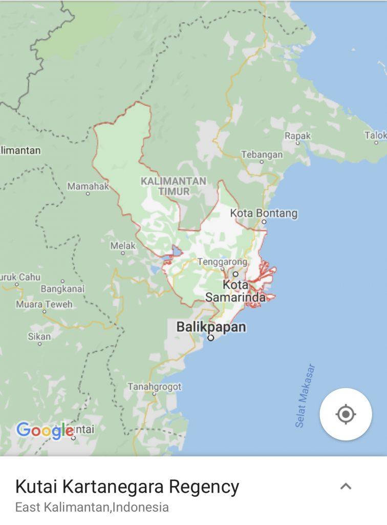 lokasi cadangan ibu kota baru indonesia