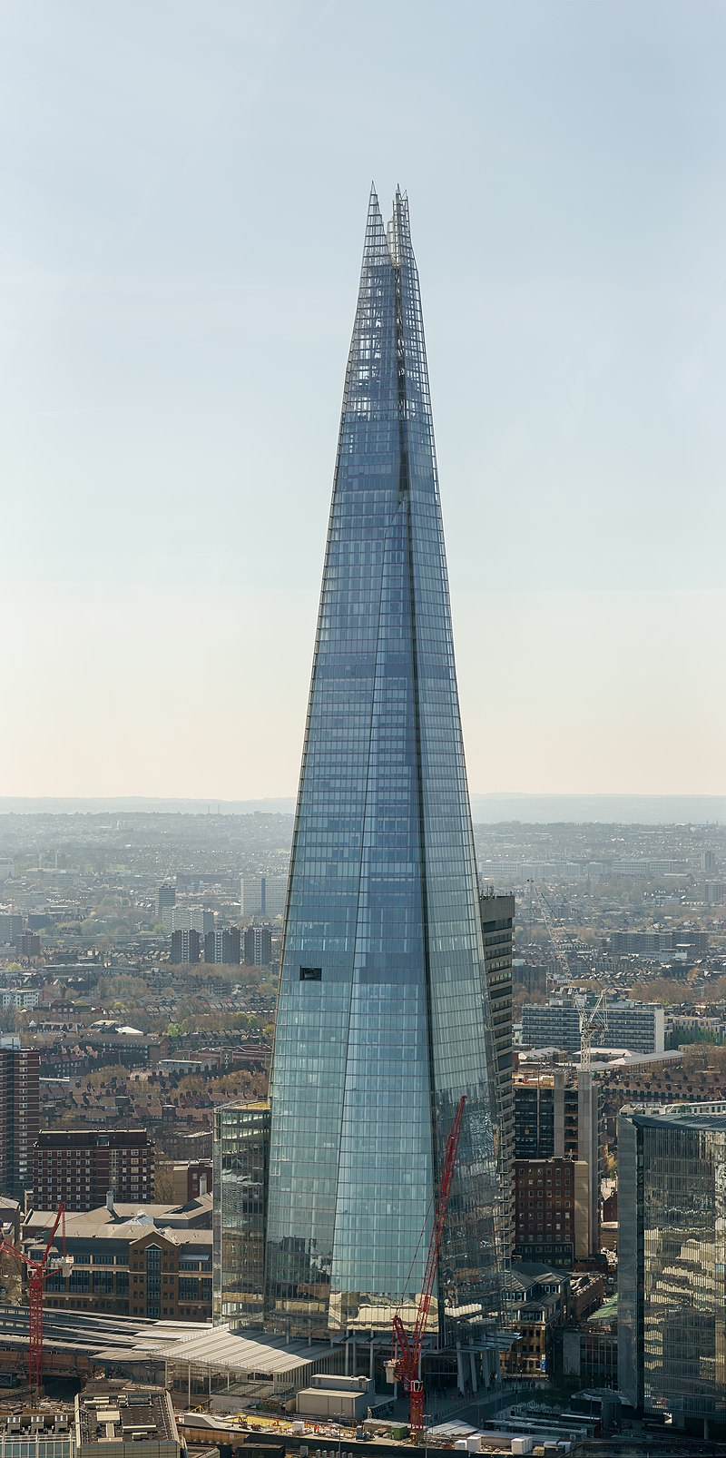 senibina renzo piano, The Shard, London
